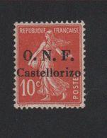 Castellorizo N° 28 Neuf Charnière - Castellorizo (1920)