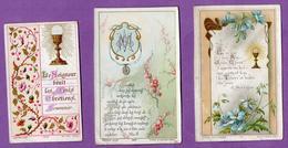 Image Pieuse Communion Et Reception Notre Dame De Caen 1905 Et Louviers 1897  - - Religión & Esoterismo