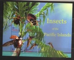 Tuvalu 2005 N° 1080J / M ** Insectes, Coléoptères, Moustique, Coccinelle, Culex, Paludisme, Araignée, Cratérine, Dytique - Tuvalu