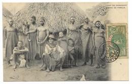 ZAGNANAVO-Chef Avec Sa Famille...1908  Animé - Dahomey