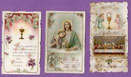 Image Pieuse Communion Villy Bocage 1916  Et Donnay 1911  - - Religion & Esotérisme