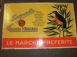 TARGA IN CARTONE PUBBLICITARIA INSUPERABILE - Plaques En Carton