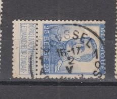 COB 120 Oblitération Centrale BRUXELLES 1Q - 1912 Pellens