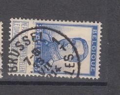COB 125 Oblitération Centrale BRUXELLES 1T - 1912 Pellens