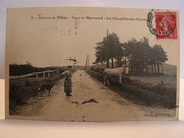 CPA 69 RHONE ENVIRONS DE THIZY ROUTE DE MARNAND A LA CHAPELLE DE MARDORE 383 - Thizy