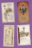 Image Pieuse Communion Villers Bocage  1904 1910 Et 1924 - Religión & Esoterismo