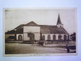 2019 - 3481  ÎLE De GROIX  (Morbihan)  :  L'EGLISE   1945   XXX - Groix