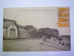 2019 - 3482  ÎLE De GROIX  (Morbihan)  :  Hangar Du Bateau De Sauvetage à Port TUDY   XXX - Groix
