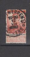 COB 111 Oblitération Centrale ANVERS 10G - 1912 Pellens