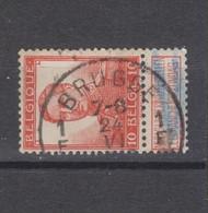 COB 111 Oblitération Centrale BRUGES 1F - 1912 Pellens