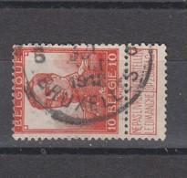 COB 111 Oblitération Centrale BRUXELLES 6 - 1912 Pellens