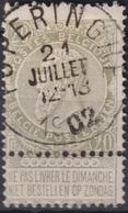 "(36) COB/OBP 59 ""POPERINGE"" +4 - 1893-1900 Schmaler Bart"