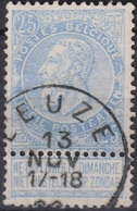 "(37) COB/OBP 60 ""LEUZE"" +2 - 1893-1900 Schmaler Bart"