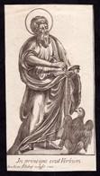 Incisione, Santino: S. GIOVANNI EVANGELISTA - RB - G. Filidonj Inc. - Mm.: 70 X 134 - Anno: 1780 - RI-INC027 - Religion & Esotericism