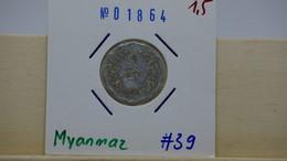 Mynmar 5 Pyas 1966 Km#39 - Myanmar