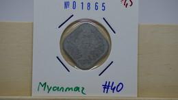 Mynmar 10 Pyas 1966 Km#40 - Myanmar