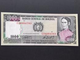 BOLIVIA P167 1000 PESOS 25.6.1982 UNC - Bolivië