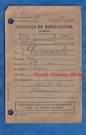 Fascicule De Mobilisation - LE BLANC ( Indre ) - Soldat Léon PRIMAULT Domicilié à DOLUS - 90e Régiment Chateauroux - Documents