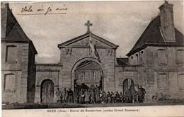 Sées - Entrée Du Sanatorium (ancien Grand Séminaire) - Hôpital Militaire En 1918 - Sees