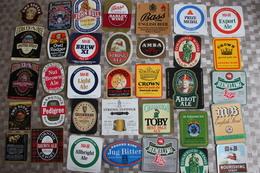 G-2 / Étiquettes,Beerlabel,Bieretiket / Lot De 70 Différentes Etiquettes,  Lot Of 70 Different Labels, England - Bière