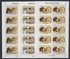 Y721. Guinea - MNH - Animal Kingdom - Dogs - Cats - 2007 - Francobolli