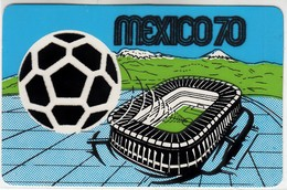 CALCIO FOOTBALL SOCCER MEXICO 70 - CARTOLINA ORIGINALE NON SPEDITA - Football