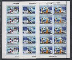 P326. Guinea - MNH - Marine Life - Shells - Dolphins - Lighthouses - 2007 - Mundo Aquatico