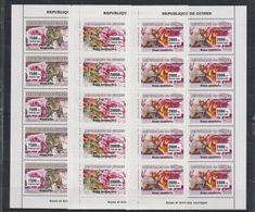 P326. Guinea - MNH - Animals Kingdom - Zebras - Monkeys - Flowers - 2007 - Otros