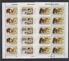 P326. Guinea - MNH - Animals Kingdom - Dogs - Cats - 2007 - Otros