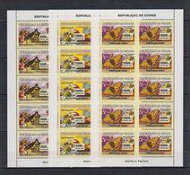 P326. Guinea - MNH - Animal Kingdom - Butterflies - Bees - Flowers - 2007 - Insetti