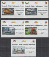 O721. Burundi - MNH - Transport - Cargo - Deluxe - Imperf - Trasporti