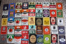 G-4 / Étiquettes,Beerlabel,Bieretiket / Lot De 120 Différentes Etiquettes,  Lot Of 120 Different Labels, England - Bière