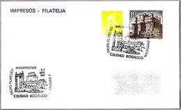 Matasellos II EXP.FILATELICA GRUPO FILATELICO MIROBRIGENSE. Ciudad Rodrigo Salamanca, 1987. - 1931-Hoy: 2ª República - ... Juan Carlos I