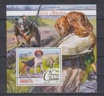 K326. Guinee - MNH - 2016 - Nature - Fauna - Aninals - Pets - Dogs - Bl - Pflanzen Und Botanik