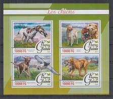 K326. Guinee - MNH - 2016 - Nature - Fauna - Aninals - Pets - Dogs - Pflanzen Und Botanik