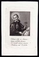 Incisione, Santino: S. CAMILLO DE LELLIS - XIX Sec. - RB - RI-INC009 - Religión & Esoterismo