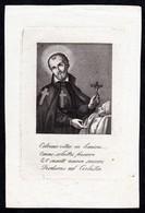 Incisione, Santino: S. CAMILLO DE LELLIS - XIX Sec. - RB - RI-INC009 - Religion & Esotericism