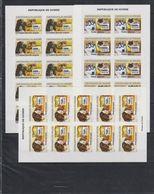 H720. Guinea - MNH - Animals - Dogs - Cats - Imperf - Briefmarken