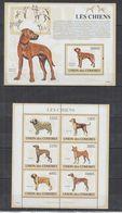 H326. Comores - MNH - 2009 - Nature - Fauna - Animals - Pets - Dogs - Pflanzen Und Botanik