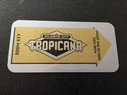 Hotelkarte Room Key Keycard Clef De Hotel Tarjeta Hotel   TROPICANA  ATLANTIC CITY  CASINO RESORT - Telefonkarten