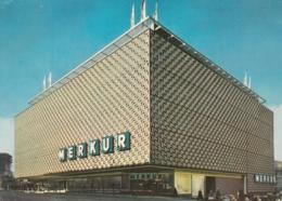 Stuttgart - Merkur Warenhaus Mit Supermarkt - Stuttgart