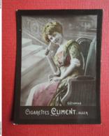 Chromo Photo. Cigarettes CLIMENT. Alger. Artiste. Femme.Erotisme. CEZANNE - Climent