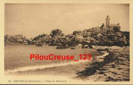 "29 Finistère  - BRIGNOGAN - "" Plage De Pontusval "" - PEU COURANTE - Brignogan-Plage"