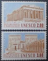DF40266/1045 - 1987 - SERVICE - UNESCO - N°98 à 99 NEUFS** - Nuovi