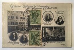 131 Genova - Conferenza Internazionale Economica - Inaugurata Il 10 Aprile 1922 - Genova