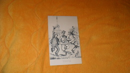 CARTE POSTALE ANCIENNE NON CIRCULEE DATE ?.../ ILLUSTRATEUR J. OCHS....LE TIRAGE AU SORT.. - Illustratori & Fotografie