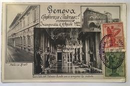 134 Genova - Conferenza Internazionale Economica Inaugurata Il 10 Aprile 1922 - Genova (Genoa)