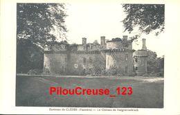"""29 Finistère  - Environs De CLEDER - """" Le Château De Kergournade'ach """" - Cléder"""