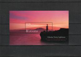 Gibraltar Trinity Lighthouse -- S/S MNH (**) - Lighthouses