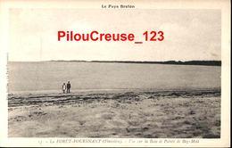 """29 Finistère  - La FORET De FOUESNANT - """" Vue Sur La Baie Et Pointe De Beg Meil """" - Fouesnant"""